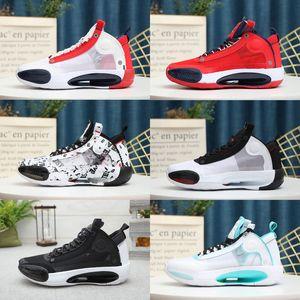 2020 nuovi pattini di Jumpman XXXIV 34 Eclipse Blu Vuoto Verde Bianco Nero Rosso Mens basket per 34s di alta qualità delle scarpe da tennis di sport Scarpe Uomo