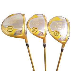 New HONMA Golf Clubs S-06 Golf Wood 135 4Star wood Set driver Clubs Golf Graphite shaft R or S driver shaft Free shipping