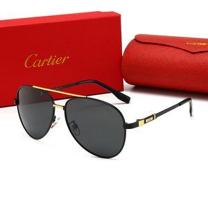 Conception de haute qualité Vintage Ecaille mens cadre métallique Lunettes de soleil lunettes Aviateurs femmes lunettes de sport UV lunettes de luxe polarisants