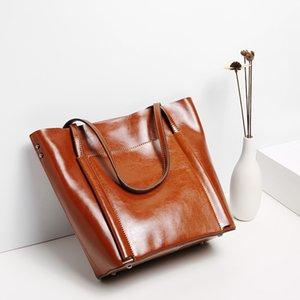 Belle2019 Leder Sommer Frau Unterstützung Special Concise Classic Ma'am Paket Rindsleder Einzel Schulter Handtasche Einkaufstasche