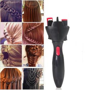 Haute Qualité Automatique Tricoté Dispositif Cheveux Braider Styling Outils DIY Électrique Deux Brins Twist Braid Maker Cheveux Braider Machine