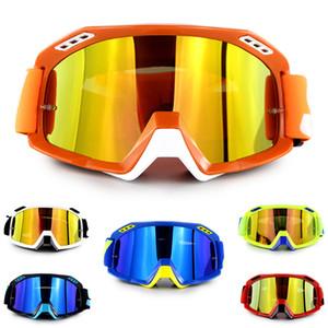 Motosiklet Koruyucu Gears Esnek Çapraz Kask Yüz Maskesi Motocross Gözlükler ATV Dirt Bike UTV Gözlük Dişli Gözlük