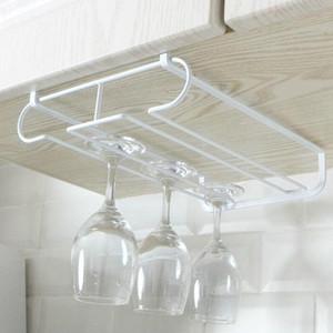 1 pièce Stemware verre sous l'armoire étagère vin Support de rangement Porte-Hanger Sèche-linge