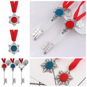 5styles Christmas Magic Key-Anhänger Weihnachtsmann Weihnachtsbaum Ornamente Dekorationen Halloween-Weihnachtsgeschenke Zu FFA2852