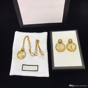European and American custom fashion electroplated brass lion designer necklace luxury designer jewelry women earrings