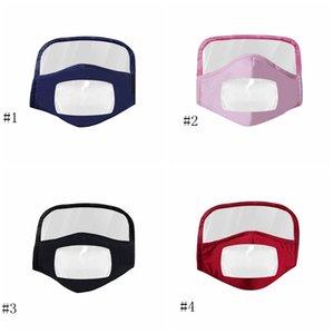Masque Bouclier nouveau masque de coton masque visuel visage pur adulte Masques de protection transparent visage Coton équitation Masques respirant EEA1789