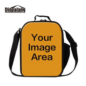 السفر التبعي تخصيص DIY الفردية بالجملة جميلة نمط الحرارية حقيبة النيوبرين غداء برودة حقائب لسيدة