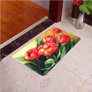 porta tapete de flanela impressão tapete antiderrapante esteira em casa têxtil uso home hotel use máquina de lavar suave e comfortbale