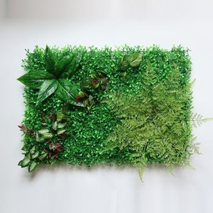 Home Artificial Lawn Grass Fake Decorative Wall Plant Garden Outdoor Interior Decoration T200703