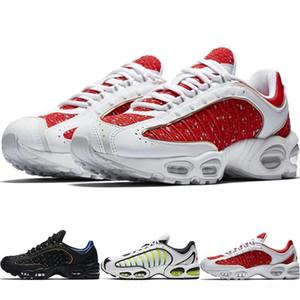 Nike Air Max Tailwind 4 2019 Yeni Varış Sup Maxes Tailwind 4 IV erkek Koşu Ayakkabı Üniversitesi Kırmızı Hiper Kobalt Siyah Hava Yastığı Tasarımcı Sneakers Eur 40-45