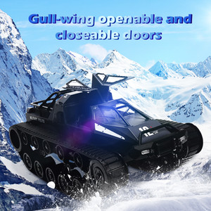 SG 1203 2.4G 5M Wading Profundidade com modelos de asa de gaivota Porta RC deriva Tank Car 1:12 alta velocidade proporcional completa veículo de controle T200115