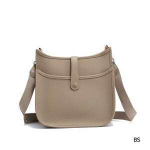 2020 Klasik sıcak satış H Paris H Evelyn PM Epsom Togo Gerçek Deri Messenger Çanta Omuz Çantaları en çok satan Crossbody Çanta 31cm