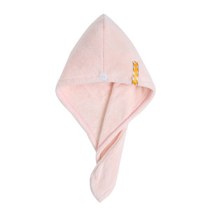 Hot sale Dry Hair Cap Magic quickly dry hair Towel Thickened Soft Woman Shower Cap Cute 2019new