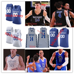 Kentucky Wildcats Jersey Ashton Baloncesto Hagans Tyrese Maxey Kahlil Whitney Nick Richards Emanuel Quickley Johnny Juzang Brennan Canadá
