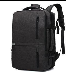 2019 sac à dos de l'ordinateur de la mode d'affaires d'affaires d'épaule multi-fonction pour hommes Sac à dos Oxford en tissu pour hommes