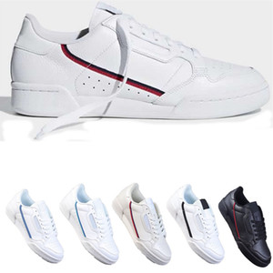 2020 pattini casuali PowerPhase Calabasas 80 continentali Rascal pelle Kanye West Gray OG nucleo nero Triple modo delle donne White Men Shoe 36-44