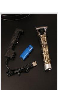 sconto online Kemei KM 1974a primo taglio dei capelli digitale Trimmer capelli ricaricabile elettrico Clipper barbiere senza cordone 0 millimetri baldhea t-blade