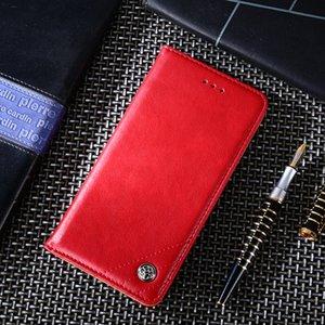 ShockProof stand del cuoio di vibrazione della cassa del raccoglitore della copertura per Xiaomi redmi K30 K20 K30Pro K20Pro Note8T Note8Pro Note7 Note7Pro 8A
