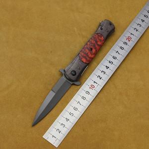 DA145 lame 440C couteaux poignée en acier couteau pliant cadeau Flipper extérieur poche de chasse camping outils EDC escalade de survie