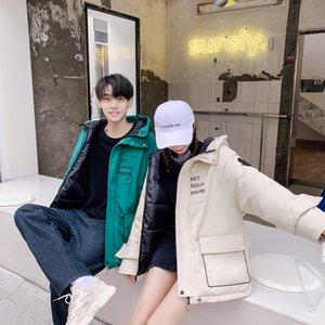 Women's Winter Jacket Autumn Winter Coat Women Clothes 2019 Korean Vintage Fur Collar Female Jacket Parka Warm Coats ZT4004