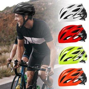 خوذة دراجة في قالب خفيفة حماية MTB جبل الطريق الدراجة ركوب الدراجات خوذة السلامة في الهواء الطلق الرياضة 25 المنافس الرجال