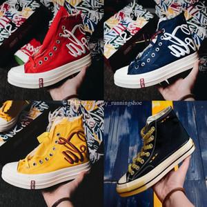 Yüksek Kaliteli Beyin Ölü Chuck 1970 Merhaba Erkek Kadın Kanvas Ayakkabılar Kaykay Ayakkabı 70 s Yıldız Rahat Sneakers Boyutu 35-45