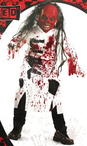 Halloween Party Cosplay Horror Vestiti Bloody Scary Costume per bambini Fancy Vampire Knight Cosplay Tema Trend Trend