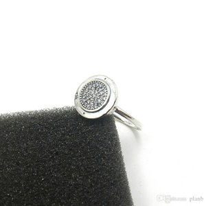 925 Sterling Silver CZ Diamond PAN RING with Original box for Pandora Womens Rings Fashion Wedding Ring Gift Jewelry