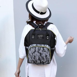 Camouflage Backpacks Mommy Maternity Nappy Bags Big Travel Nursing Baby Bag