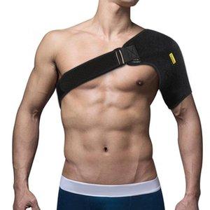 US FR DE Yosoo Adjustable Shoulder Support Brace Strap Sport Gym Back Shoulder Arm Protector Compression Bandage Wrap