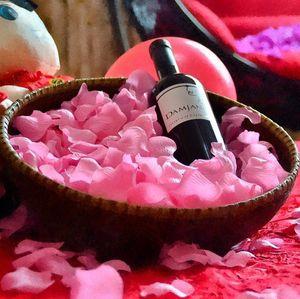 Wholesale-Free Shipping Лепестки роз Свадебные украшения Искусственные цветы для украшения цветы из шелка Декоративные цветы Венки