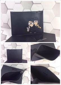 In Fashion neuen Joker Leder Handtasche klassischen Cartoon-Puppe Tragetaschen für Männer und Frauen mit Avantgarde Trend Business Retro-Tasche Freizeit
