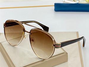 Yeni moda bayan toptan koruma gözlük UV 400 lens satan en kaliteli popüler stili ile 0591 pilotlar çerçeve güneş gözlüğü