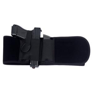 Universal Tactical Elastic Belly Banda coldre com revista malotes Oculto Revólver Carry Pistol Bolsa Mão Direita / Esquerda
