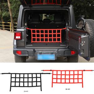 Rear Trunk-Netzwerk Auto-Kofferraum Isolation Net Trunk Organizer Ladung-Netz für Jeep Wrangler JK JL 2007-2019