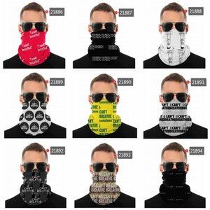 DHL-freies Verschiffen balck Leben Maske Materie 2020 neue Designer-Masken Baumwolle Ich kann nicht atmen Gesichtstuch Radfahren Radfahren Gesicht Handtuch Maske