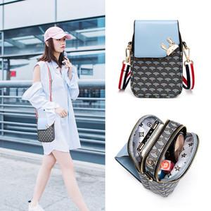 Designer Backpack Phone Bag Womens Shoulder Bag 2019 New Style Korean-Style Coin Purse Halter Phone Bag Girls Messenger Mini