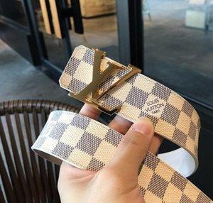 2019 new designer belt business waistbands imports really leather fashion 8 buckle belt Zinc alloy buckle belts 105-120cm