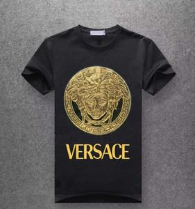 lettera cotone 100% degli uomini di modo maglietta traspirante o-collo casuale delle donne degli uomini di lusso di stampa estate 2020 a maniche corte all'ingrosso T-shirt