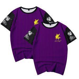 camisa de la manera de Lil pío 3D T Hombres Mujeres Nueva Kpop Harajuku cantante de Hip Hop Lil pío camiseta de los hombres de las mujeres de manga corta Tops MX200611