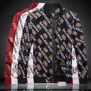 Giacca nera SS19 nuovo design Inverno uomo Felpa con cappuccio allentati casuali Mens del cappotto del rivestimento giacche di alta qualità spesso caldo di alta qualità