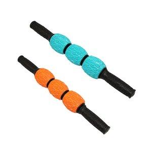 Masaj Spor Yoga Bacak Kol İçin Yoga Blok Derin Doku İçin Taşınabilir Gears Muscle Merdane Masaj Çubuk Sticks