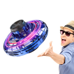 Drone UFO Hand Operated Toy RC Helicopter Quadrocopter Dron Infrared Induction Aircraft Flying Ball Toys For Kids