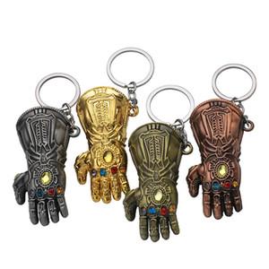 أعجوبة بطل تمثال الهيكل قبضة الرجل الحديدي اليد مفتاح السيارة حلقة المفاتيح thanos قفاز إنفينيتي القفاز مفتاح سلسلة brinquedo