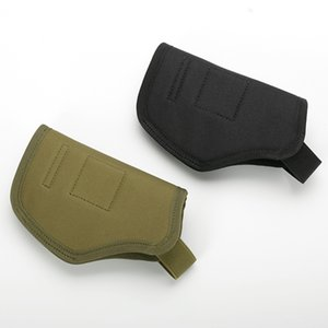 Tactical Gun Holster Army Combat Training Gun Holster Mens Nylon Outdoor Hunting CS GAME Shoting Portable Tactical Pouch