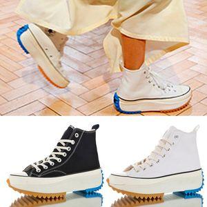converse Avec Box Femmes J.W. JW Anderson Chuck Run étoile Randonnée vulcanisée Chaussures pour femmes Bottes Femme Chaussures de sport en toile et semelle compensée Filles Sneaker