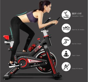 09 Exercise bike home ultra-quiet indoor weight loss pedal exercise bike spinning bicycle fitness equipment