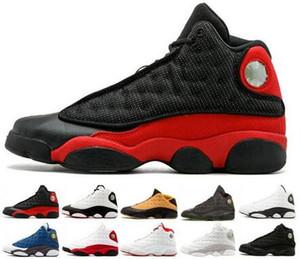 2020 13 13s мужская женская баскетбольная обувь выведена Чикагская пшеница XII Melo класс 2002 Black Cat Altitude Brown CP3 home DMP 5.5-13 с коробкой