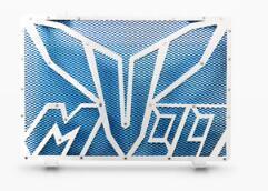 Coolant moto Refit Réservoir d'eau Garde réservoir Couverture Pour MT-09 fz-09 Bleu