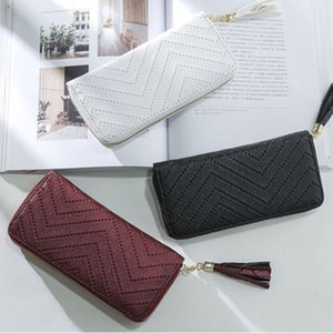 2020 New Year Gifts Women Fashion Long Wallets Classic Elegant Women Lady Purse Handbags Coin Change ID Card Holders Wallet Coin Pocket